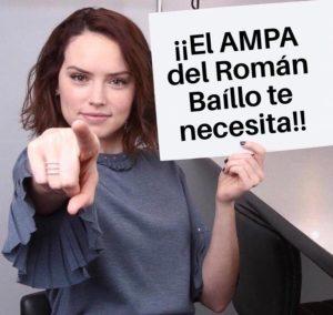 El AMPA del Román Baíllo te necesita