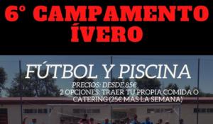 6º Campamento Fútbol y Piscina del Club Ívero